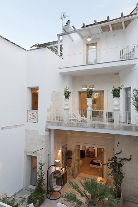 fotografia d'interni palazzo dei dondoli Lecce