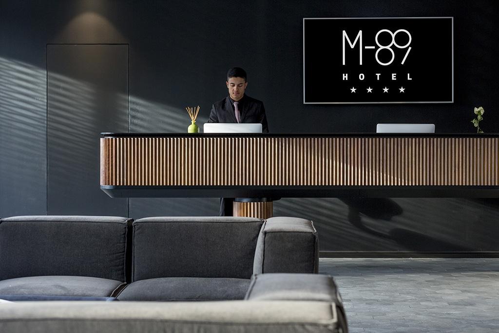 fotografia d'interni hotel m89 milano